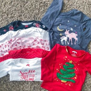 Baby Girl's Christmas Bundle- 18 months